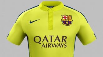 Vés a: La tercera samarreta del Barça és de color groc elèctric