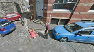 WTF! Un assassinat a Google Street View?
