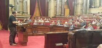 Vés a: David Fernàndez, a Margallo: «No ens quedarem a casa»