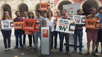 Joventuts de partits i entitats juvenils reclamen també votar el 9-N