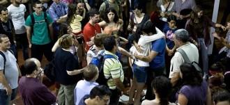 Sergi Rubia, dels Castellers de Barcelona, absolt pels fets de Can Vies