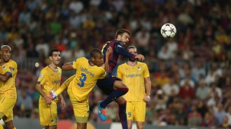 El Barça debuta a la Champions guanyant per la mínima contra l'APOEL (1-0)