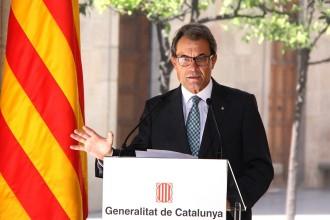 Mas: «Escòcia reforça el procés català»
