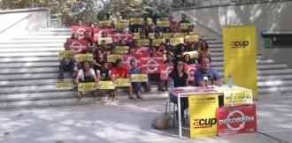 La CUP només contempla la «desobediència civil i institucional»