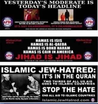 Campanya contra l'islam al transport públic de Nova York