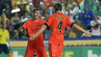 Vés a: El Barça goleja i es manté intractable a la Lliga