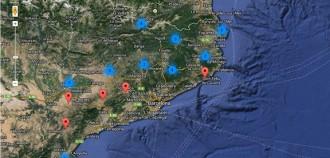 Totes les fotos dels plens pro-consulta en un mapa de l'AMI i Nació Digital