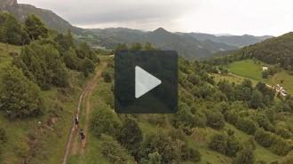 Un vídeo amb imatges aèries de la Taga 2040 de la UE Sant Joan