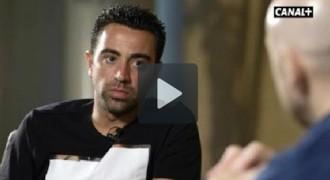 Xavi Hernández, entrevistat pel programa «Fiebre Maldini»