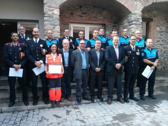 El nou inspector recupera la Diada de la Policia Local de Sant Celoni