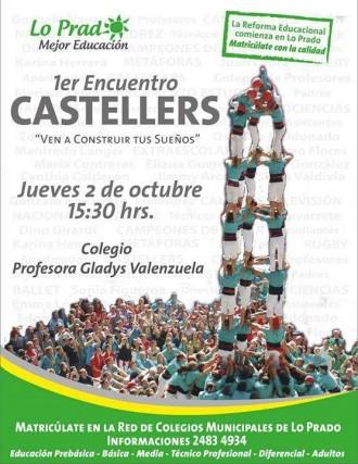 Els Castellers de Lo Prado comencen un taller educatiu