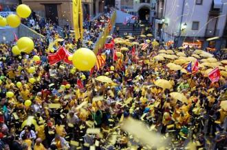 La Catalunya Central es rebel·la contra el TC des de Berga
