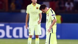 El Barça de Luis Enrique perd a París el primer partit (3-2)