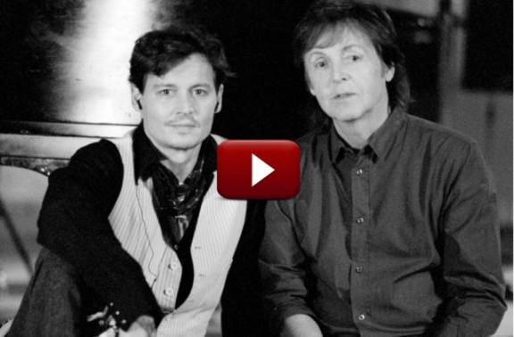Johnny Depp i Paul McCartney junts a una jam session de mitja hora [VÍDEO]