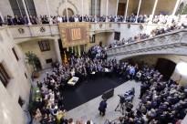 Prop de 900 alcaldes defensen el 9-N a la Generalitat