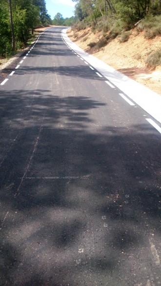 Obra de millora de camins rurals del nucli de població de Madrona (Primera fase)