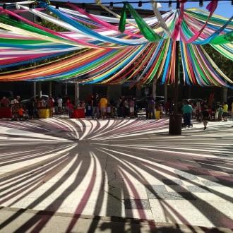 Una foto de la plaça del Camp de Jordi Soldevila guanya el segon concurs a Instagram de la Festa Major de Solsona