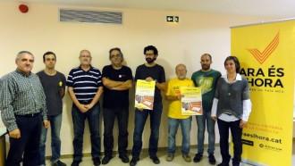 Manresa presenta la campanya «Ara és l'hora»