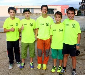 Segona jornada de la lliga comarcal de bitlles catalanes